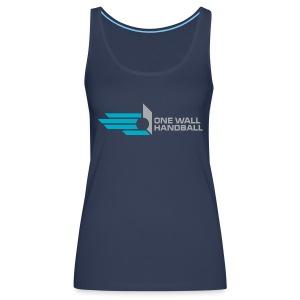 One Wall Handball  - Dames Tank Top met logo voorzijde - Vrouwen Premium tank top