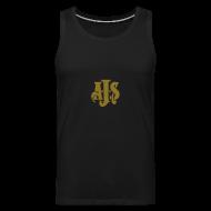 Sportsklær ~ Premium singlet for menn ~ AJS emblem