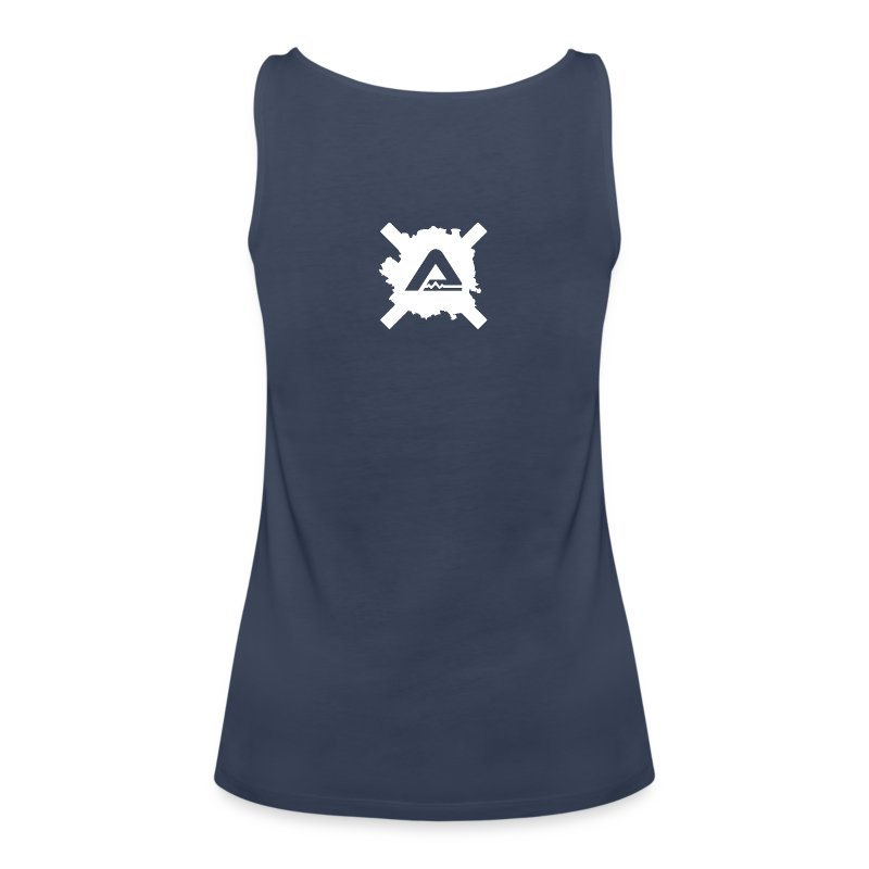 White A Logo C Woman - Women's Premium Tank Top