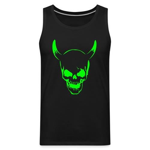 Männer Muskelshirt (Skull) - Männer Premium Tank Top