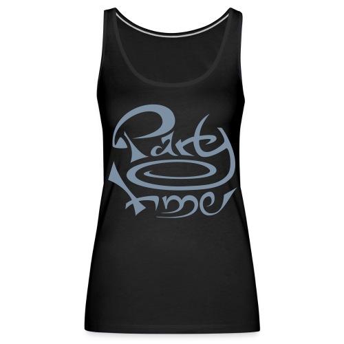 Tshirt Dos Nageur Women Original One Argent - Débardeur Premium Femme