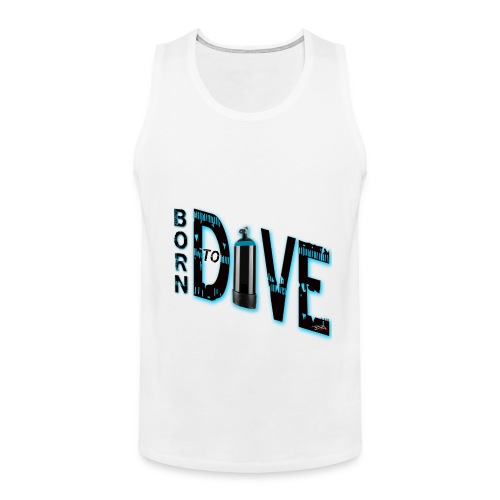 Born to dive - Männer Premium Tank Top