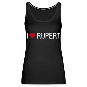 I-love-Rupert-Shirt (Tank-Top) - Frauen Premium Tank Top