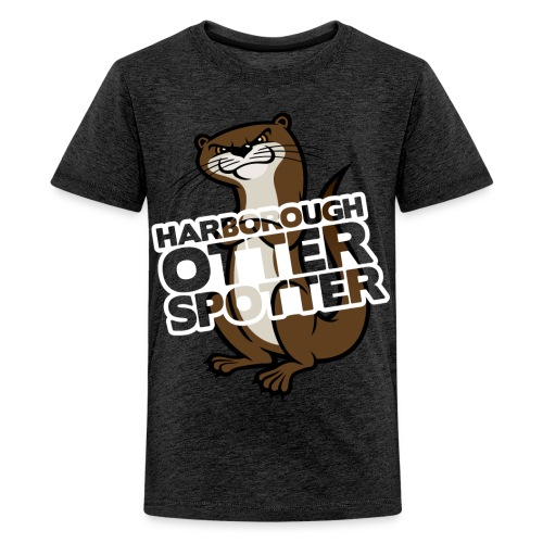 Harborough Otter Spotter Teens Tshirt - Teenage Premium T-Shirt