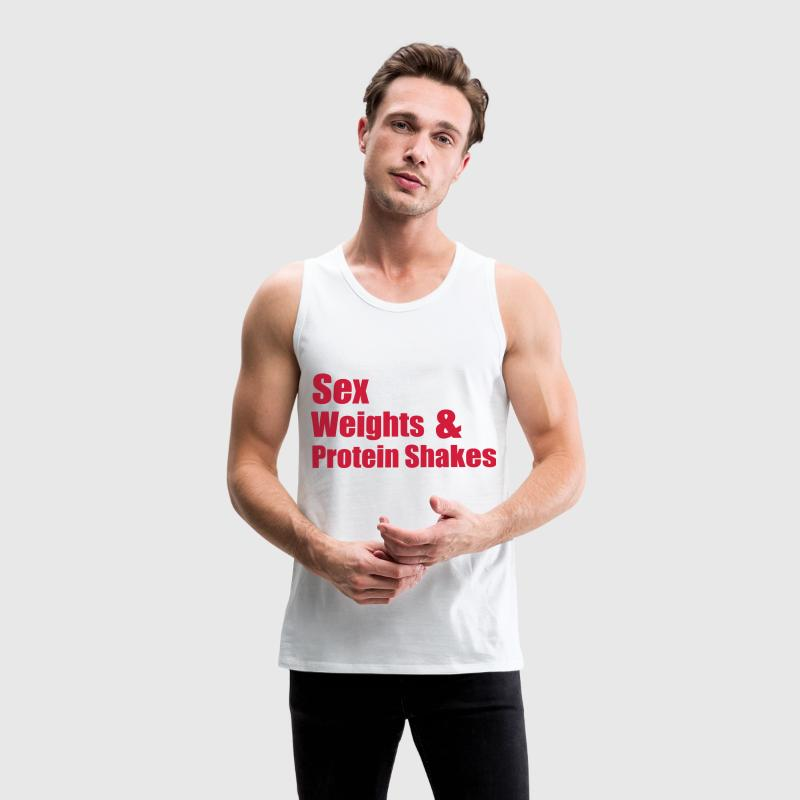 Sex Weights Tee shirts - Débardeur Premium Homme