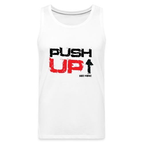 Push-Up Tanktop Männer - Männer Premium Tank Top