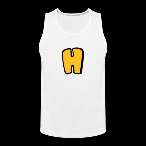 Alphabet H - Men's Premium Tank Top