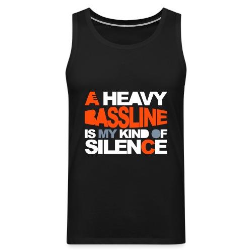 Heavy bassline - Men's Premium Tank Top