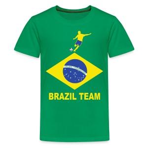 Brazil sport 11 - Teenage Premium T-Shirt