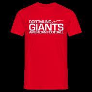 T-Shirts ~ Männer T-Shirt ~ Herren T-Shirt Rot