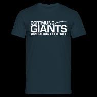 T-Shirts ~ Männer T-Shirt ~ Herren T-Shirt Navy