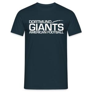 Herren T-Shirt Navy - Männer T-Shirt