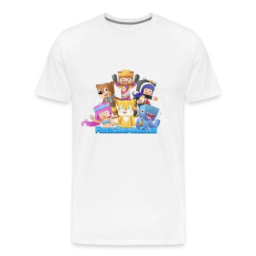 Mens - MagicAnimalClub - Men's Premium T-Shirt