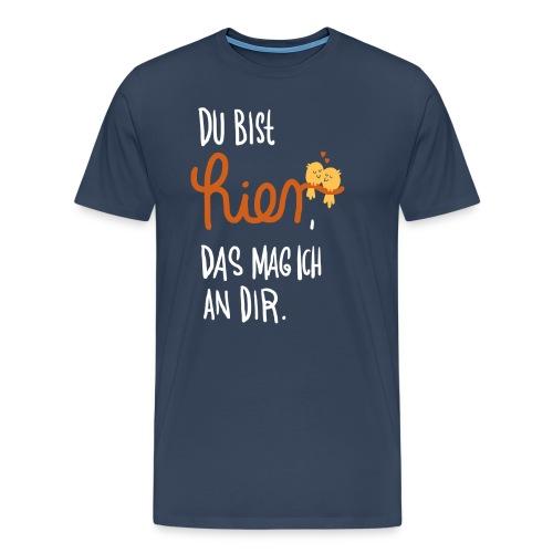 Ich mag Dich (Mann) - Männer Premium T-Shirt