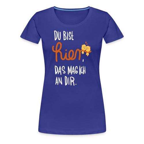 Ich mag Dich (Frau) - Frauen Premium T-Shirt