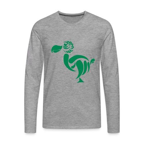 Men's Premium Longsleeve Shirt - big bird,dodo,dodo barry,dodo case,dodo t-shirt,dodo t-shirts,dodobarry,dodobarry big bird,dodocase,t-shirts