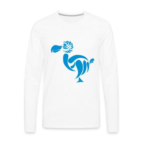 Men's Premium Longsleeve Shirt - t-shirts,dodocase,dodobarry big bird,dodobarry,dodo t-shirts,dodo t-shirt,dodo case,dodo barry,dodo,big bird