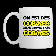Bouteilles et Tasses ~ Tasse ~ Mug Cobayes ou pas