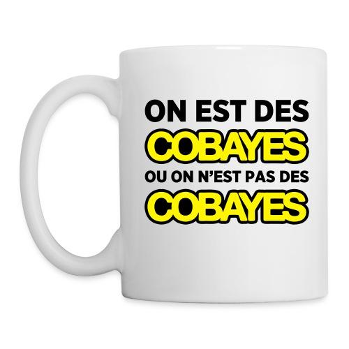 Mug Cobayes ou pas - Mug blanc