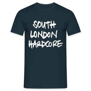 Handwritten white text - Men's T-Shirt