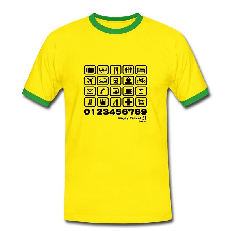 Point in Travel WT - Men's Ringer Shirt