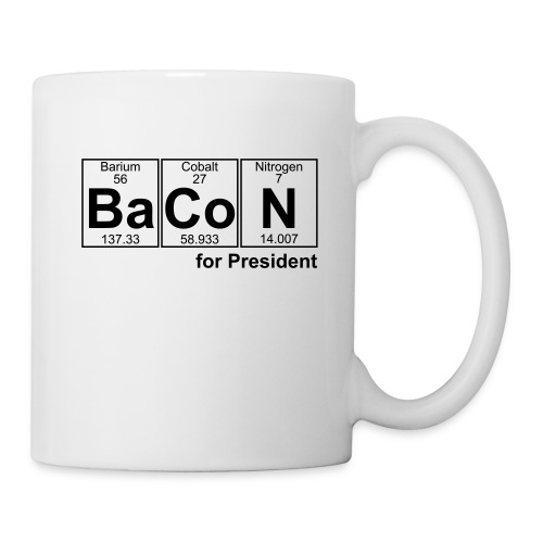 Bacon for President (you can change text) - Mug