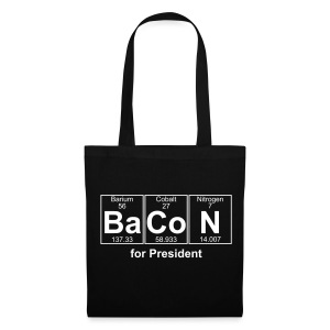 Bacon for President (you can change text) - Tote Bag