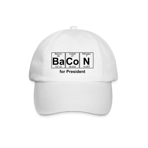 Bacon for President (you can change text) - Baseball Cap