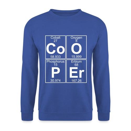 Co-O-P-Er (Cooper) - Men's Sweatshirt