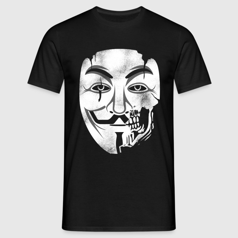 Anonymous Skull Mask - Men's T-Shirt