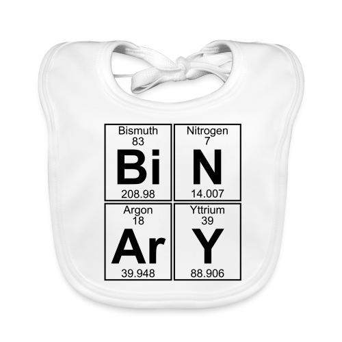 Bi-N-Ar-Y (binary) - Baby Organic Bib