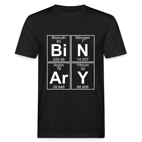Bi-N-Ar-Y (binary) - Men's Organic T-Shirt