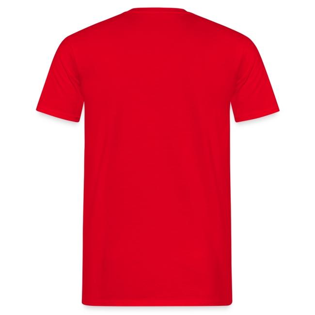 "Herren T-Shirt ""Helm"" einseitig Rot"