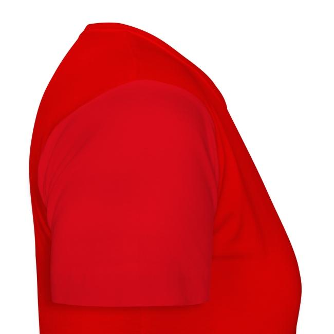 """Damen T-Shirt """"Helm"""" zweiseitig Rot"""