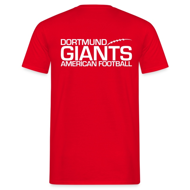 """Herren T-Shirt """"Helm"""" zweiseitig Rot"""