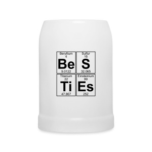Be-S-Ti-Es (besties) - Beer Mug