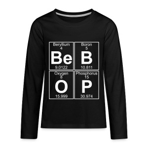 Be-B-O-P (bebop) - Teenagers' Premium Longsleeve Shirt