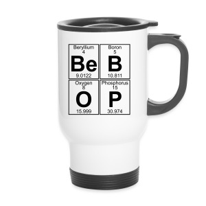Be-B-O-P (bebop) - Travel Mug