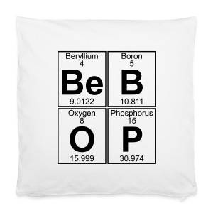 Be-B-O-P (bebop) - Pillowcase 40 x 40 cm