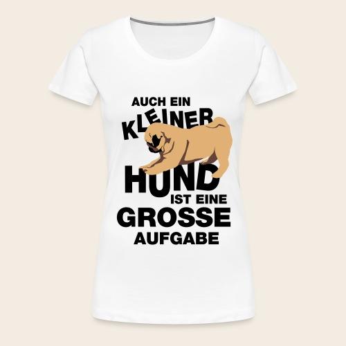 Mops Frauen T-Shirt - Frauen Premium T-Shirt