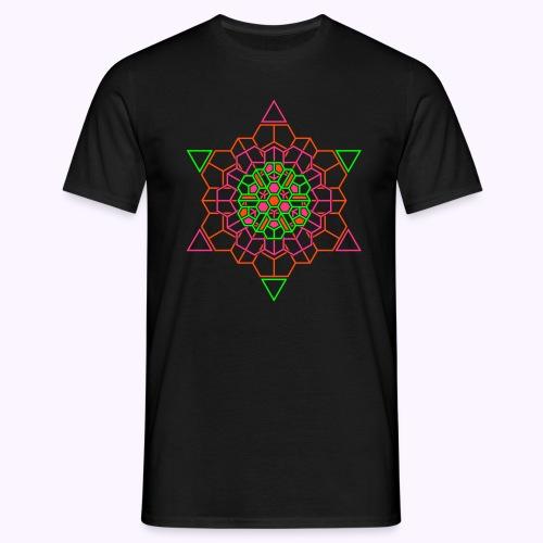 Cosmic Crystal Front: Men Classic Shirt - Men's T-Shirt