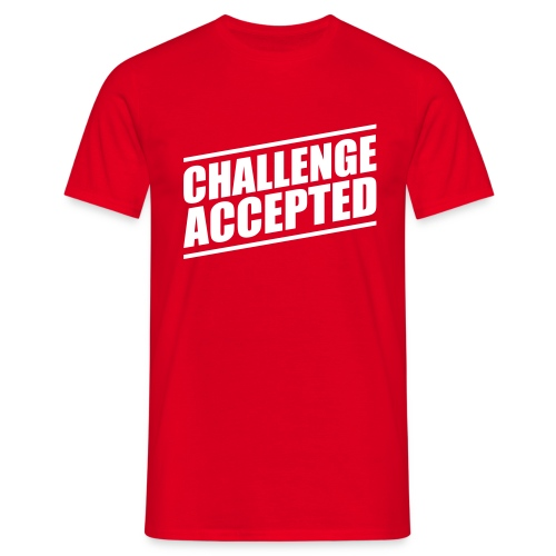 Challenge Accepted - Männer T-Shirt
