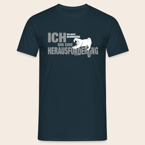 Mops Herausforderung Männer Shirt - Männer T-Shirt