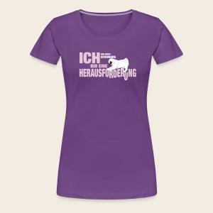 Mops Herausforderung Frauen T-Shirt - Frauen Premium T-Shirt