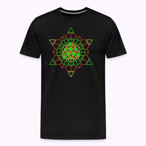 Cosmic Crystal Front Men Premium S-5XL - Men's Premium T-Shirt