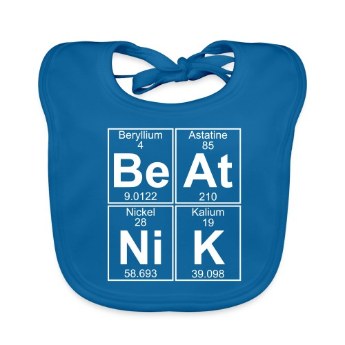 Be-At-Ni-K (beatnik) - Baby Organic Bib