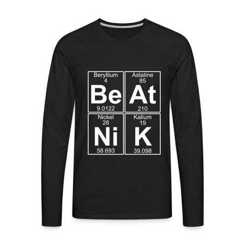 Be-At-Ni-K (beatnik) - Men's Premium Longsleeve Shirt
