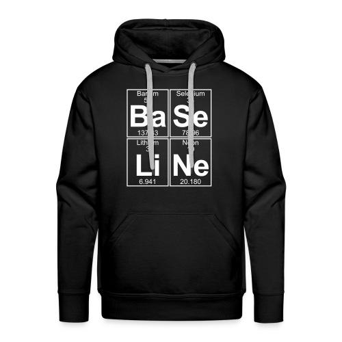 Ba-Se-Li-Ne (baseline) - Men's Premium Hoodie