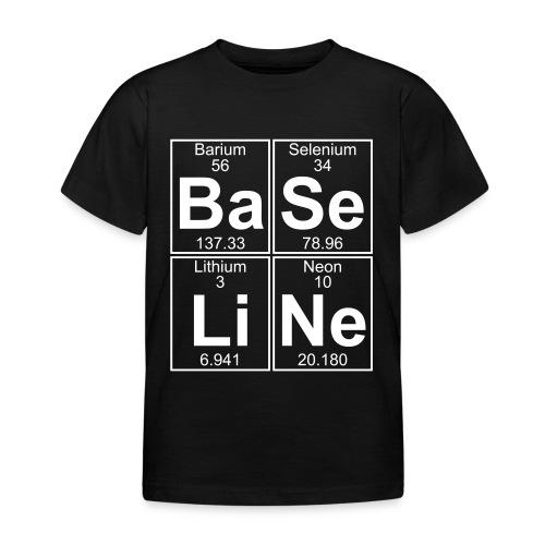 Ba-Se-Li-Ne (baseline) - Kids' T-Shirt