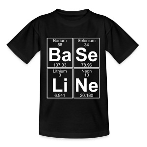 Ba-Se-Li-Ne (baseline) - Teenage T-shirt